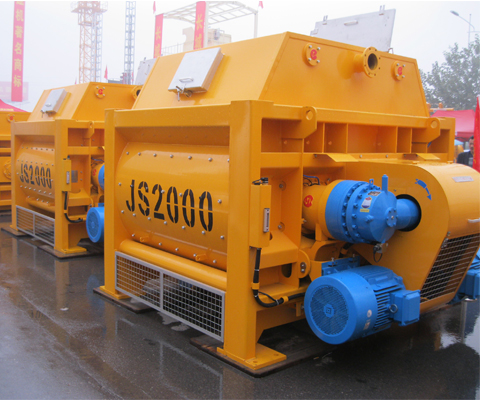 JS2000 Twin-shaft Concrete Mixer